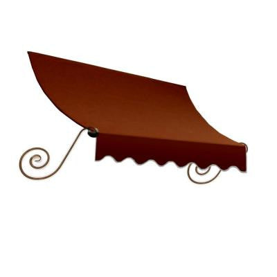 16 ft. Charleston Window Awning (31 in. H x 24 in. D) in Terra Cotta