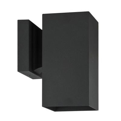 Eldridge 1-Light Black Outdoor Wall Lantern