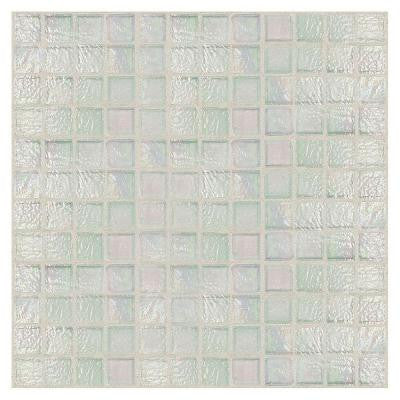 Egyptian Glass Opal 12 in. x 12 in. x 6 mm Glass Face-Mounted Mosaic Wall Tile