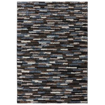 Mesa Black 3 ft. 4 in. x 5 ft. 6 in. Accent Rug