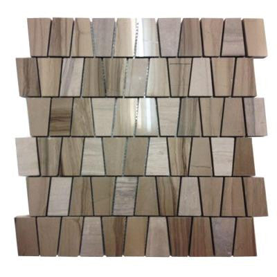 Artifact Athens Gray Marble Mosaic Tile - 3 in. x 6 in. Tile Sample