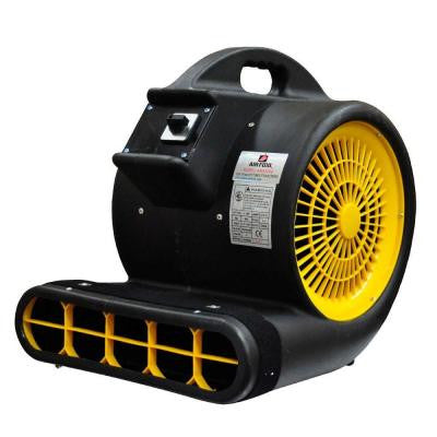 High Velocity 1 HP 3 Speed 3 Position 4000 CFM Air Mover / Carpet Dryer / Floor Dryer