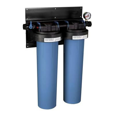 SuperPlus 20 in. Whole House 3-Stage Advanced Carbon Technology Water Filtration System