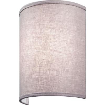 Aberdale 11 in. LED Lilac Linen Sconce