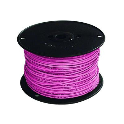 500 ft. 16/1 TFFN Fixture Wire - Pink