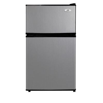 3.5 cu. ft. Mini Refrigerator in Stainless Steel