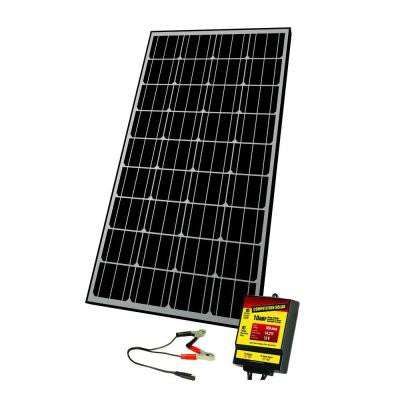 145-Watt Monocrystalline Solar Panel for 12-Volt Charging