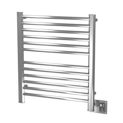 Sirio S-2933 29 in. W x 33.25 in. H 12-Bar Electric Towel Warmer in Polished Stainless Steel
