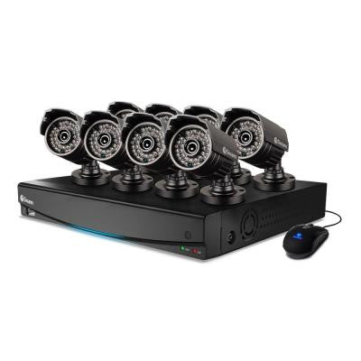 16-Channel 960H 1TB 8x 720TVL Indoor/Outdoor Bullet Camera