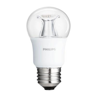 40W Equivalent Soft White Clear Multipurpose A15 Dimmable LED with Warm Glow Light Effect Light Bulb