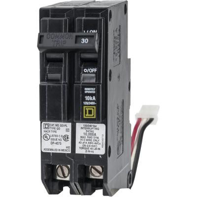 QO 30 Amp 1.5 in. Two-Pole ILC Power Link Circuit Breaker