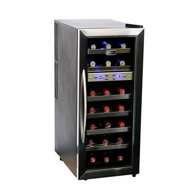 21-Bottle Dual Zone Wine Cooler
