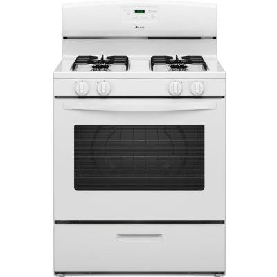 5.1 cu. ft. Gas Range in White