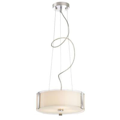 Bourland 3-Light Polished Chrome Pendant