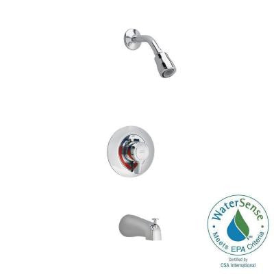Colony 1-Handle Tub and Shower Faucet Trim Kit in Polished Chrome (Valve Sold Separately)