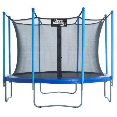 10 ft. Trampoline and Enclosure Set Equipped with Easy Assemble Feature