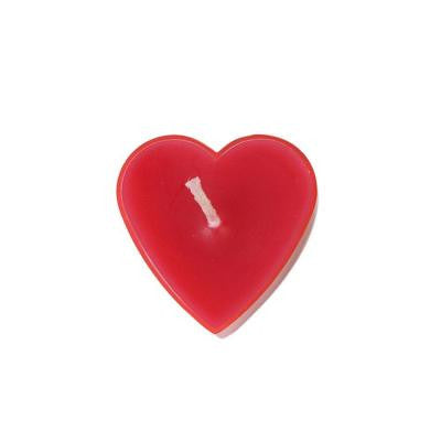 Red Heart Tealight Candles (6-Pack)