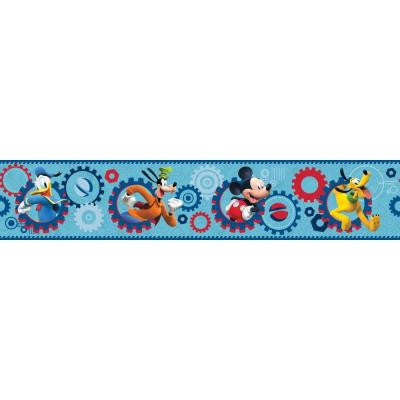 9 in. H Walt Disney Kids II Clubhouse Capers Border