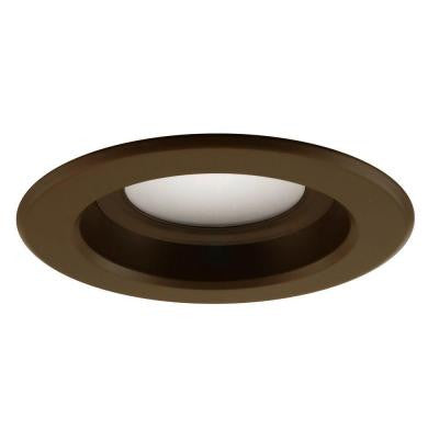 Nicor D-Series 4 in. 2700K Oil Rubbed Bronze Dimmable LED Recessed Retrofit Kit