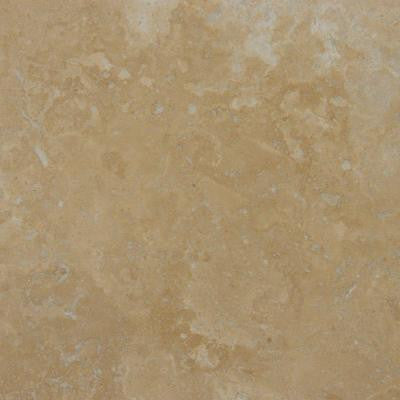 Noce Premium 24 in. x 24 in. Honed Travertine Floor and Wall Tile