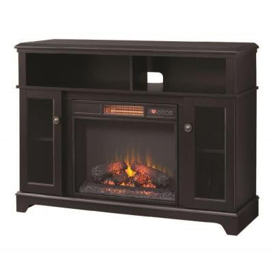 Ravensdale 48 in. Media Console Electric Fireplace in Dark Espresso