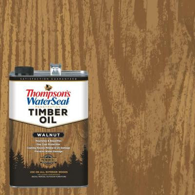 1 gal. Walnut Penetrating Timber Oil (4-Pack)
