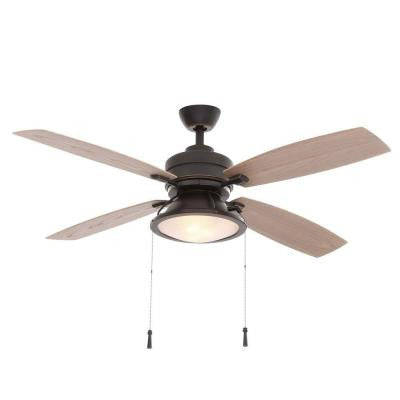 Kodiak 52 in. Dark Restoration Bronze Indoor/Outdoor Ceiling Fan