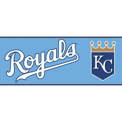 Boys Will Be Boys II 6 in. Kansas City Royals Border