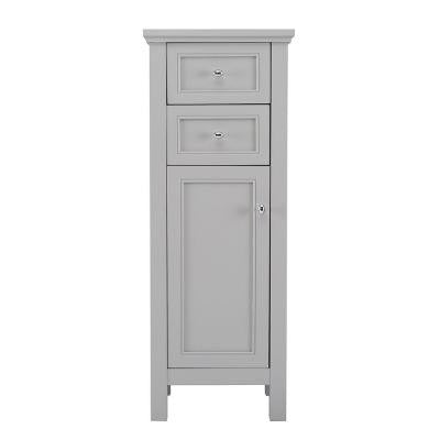 Gazette 16 in. W x 42 in. H Floor Cabinet in Grey