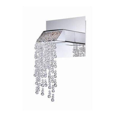 Fonte Collection 1-Light Chrome Wall Sconce