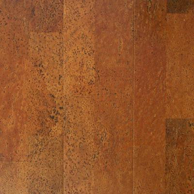 Copper Plank 13/32 in. Thick x 5-1/2 in. Wide x 36 in. Length Cork Flooring (10.92 sq. ft. / case)