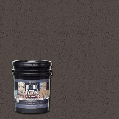 4 gal. 10X Advanced Autumn Brown Deck and Concrete Resurfacer