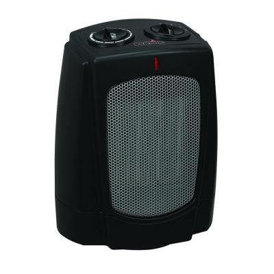 1500-Watt Ceramic Desktop Heater- Black
