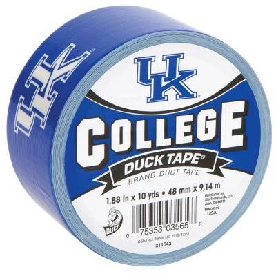 College 1-7/8 in. x 30 ft. University of Kentucky Duct Tape (6-Pack)