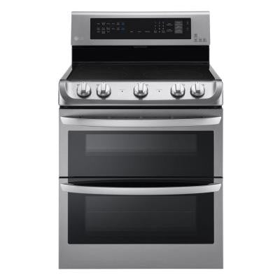 7.3 cu. ft. Electric Double Oven Range with ProBake Convection in Stainless Steel