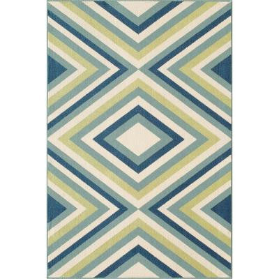 Baja Multi 2 ft. 3 in. x 4 ft. 6 in. Indoor/Outdoor Area Rug