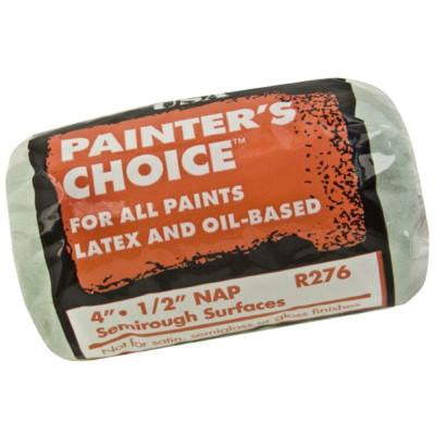 Painters Choice 4 in. x 1/2 in. Medium-Density Roller Cover