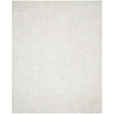New Orleans Shag Off White 5 ft. x 8 ft. Area Rug