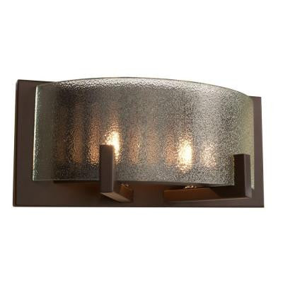 Firefly 2-Light Bronze Bath Light