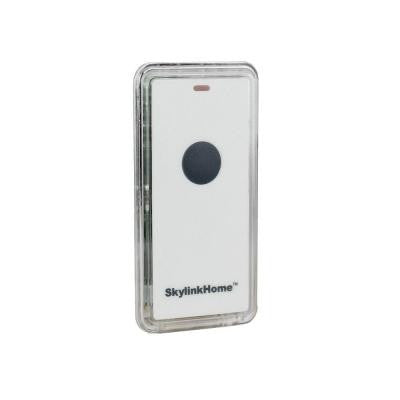 Remote Transmitter with Mini Snap-On for Wall Switch