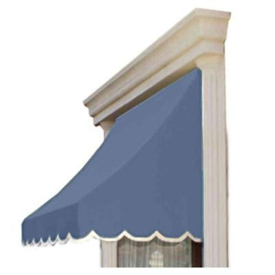 16 ft. Nantucket Window/Entry Awning (31 in. H x 24 in. D) in Dusty Blue