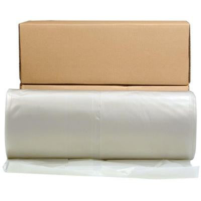28 ft. x 100 ft. Clear 6 mil Plastic Sheeting
