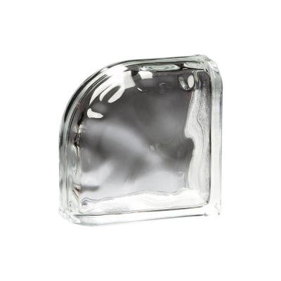 Decora Encurve 8 in. x 8 in. x 4 in. Glass Block