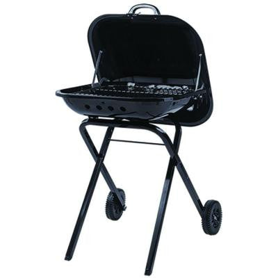 Traveler Charcoal Grill in black