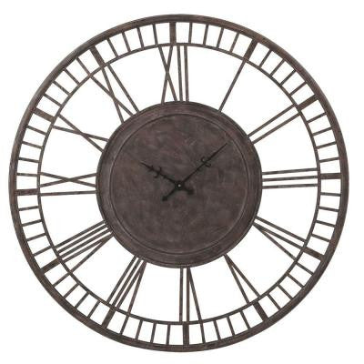 Sundry 42 in. x 42 in. Oversized Vintage Wall Clock