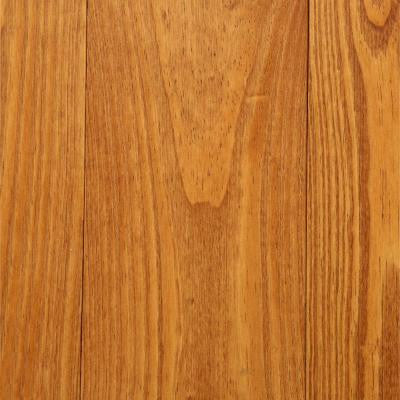 Antiqued Wire Brushed Honey Pine 3/4 in. Tx 5-1/8 in. Wide x Random Length Solid Hardwood Flooring (23.3 sq. ft. / case)