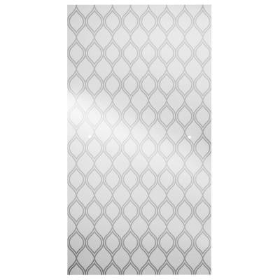 31 in. x 64.5 in. Pivot Shower Door Glass Panel in Ojo