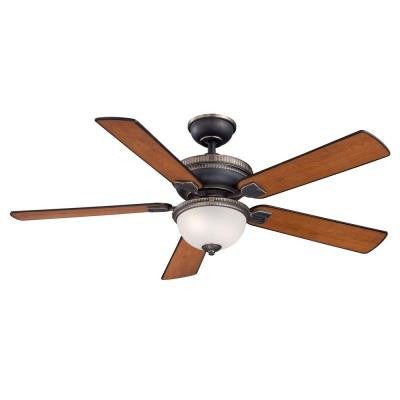 Colbert 52 in. Tarnished Bronze Ceiling Fan