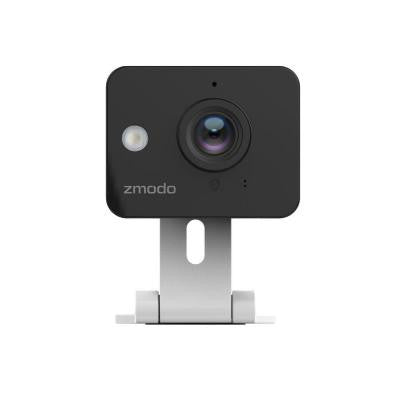 720p HD Mini Wi-Fi Camera with Smartphone Remote Viewing, 2-Way Audio and Smart Motion Alerts