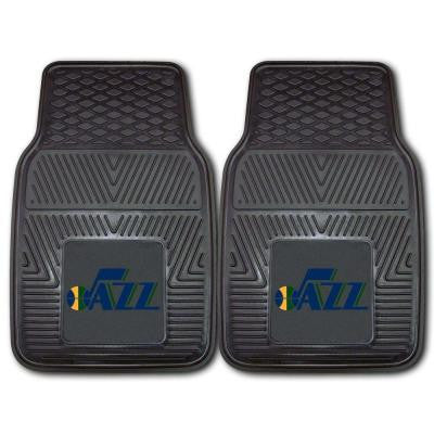 Utah Jazz Musical Note Logo 18 in. x 27 in. 2-Piece Heavy Duty Vinyl Car Mat